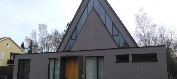 Referenz, Innen Kalkputz, Fassade WDVS