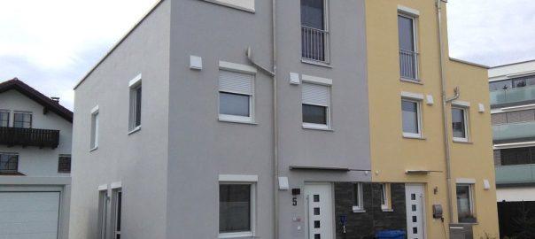 Referenz, Fassade WDVS EPS, Innen Gips- oder Kalkputz